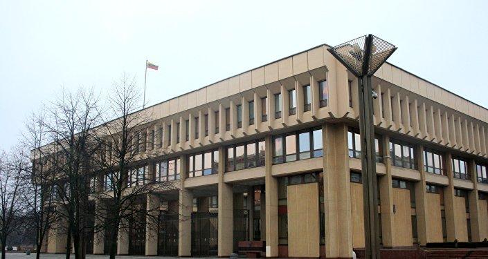 Литовский парламент, архивное фото