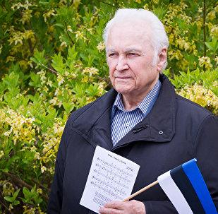 Бывший президент Эстонии Арнольд Рюйтель