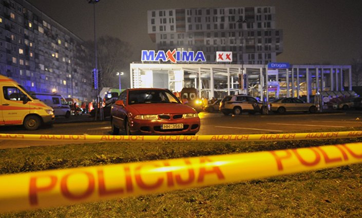 Обрушение крыши торгового центра в Риге, 21 ноября 2013