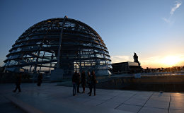 Berlīnes Reihstāga kupols