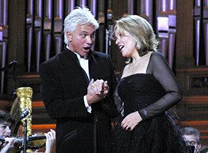 Д. Хворостовский и Р.Флеминг на концерте