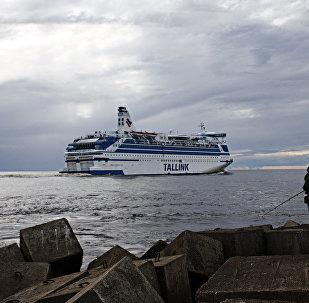 Пассажирский лайнер Таллинк