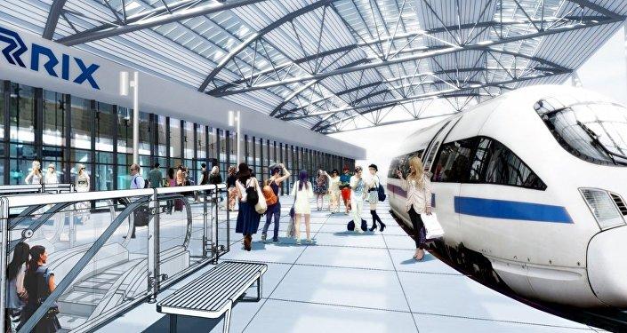 Визуализация проекта Rail Baltica