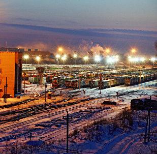 Железнодорожное депо в Даугавпилсе