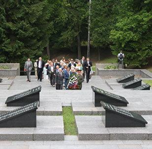 Antakalnes kapi Viļņā. 2016. gada 22. jūnijā