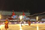 Навка и Чернышев выступили на открытии катка на Красной Площади