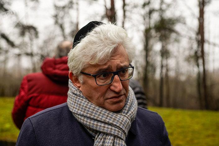 Председатель Рижской еврейской общины Аркадий Сухаренко