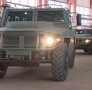 Российские бронеавтомобили Тигр