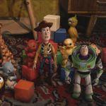 Герои мультфильма История игрушек среди советских кубиков и резиновых фигурок
