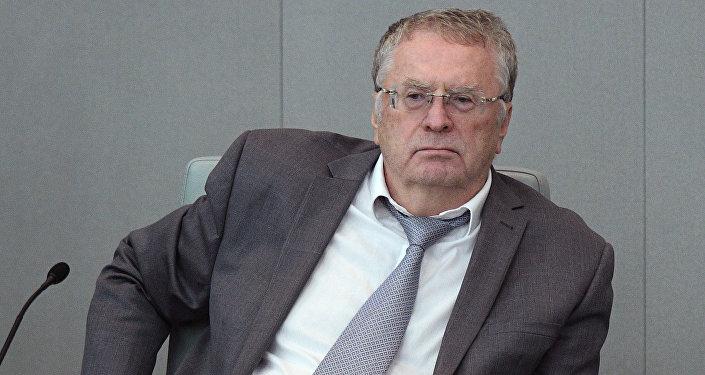 Руководитель фракции ЛДПР Владимир Жириновский, архивное фото