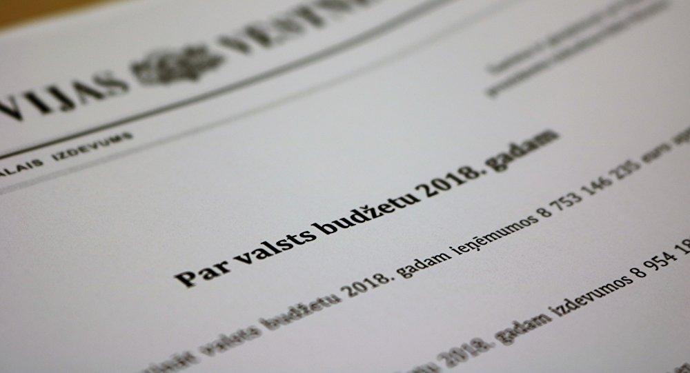Likums par valsts budžetu 2018. gadam