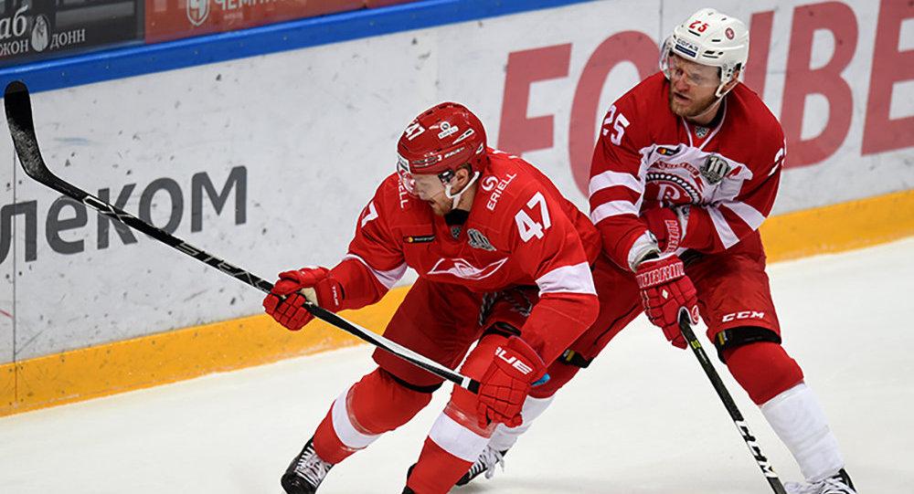 Матч Спартак - Витязь, 5 декабря 2017