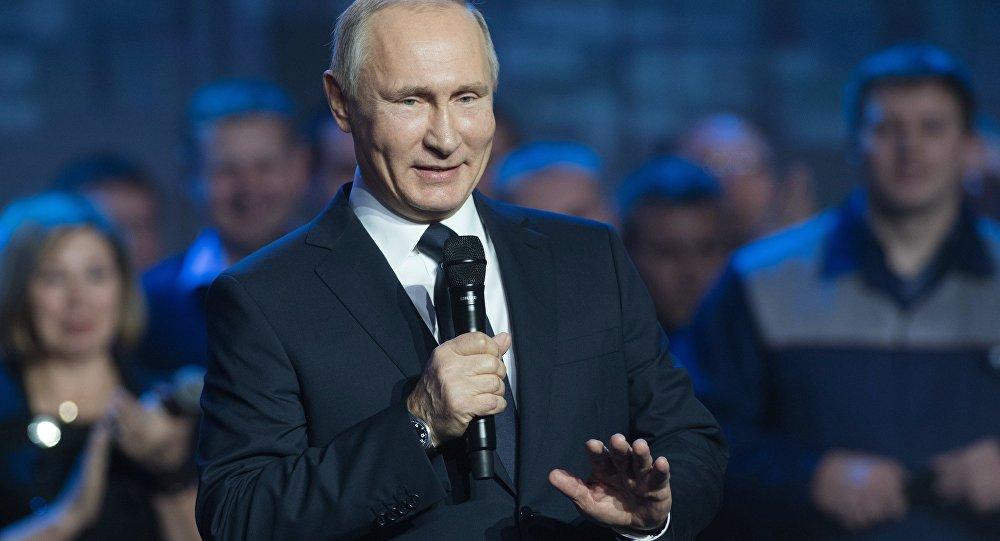 Рабочая поездка президента РФ В. Путина в Нижний Новгород