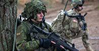 Militārās mācības Lietuvā