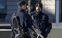 Zviedrijas policisti