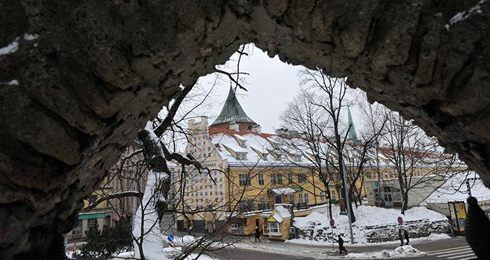 Яковлевские казармы и Пороховая башня в Старой Риге