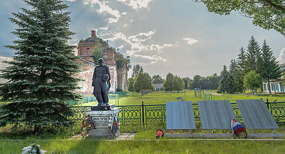 Мемориал советским воинам в Клайпеде, архивное фото