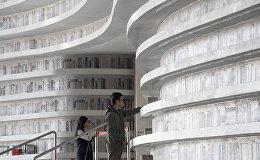 В китайском городе Тяньцзинь открылась библиотека Биньхай, Китай