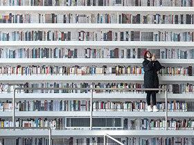 Ķīnā atvērta nākotnes bibliotēka