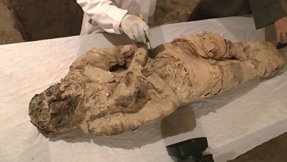 В египетском Луксоре нашли мумию