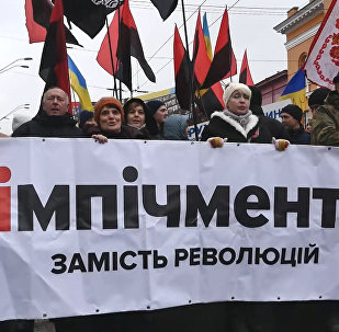 Kijevā notika Saakašvili piekritēju maršs