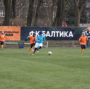 В Калининграде провели 24-часовой футбольный матч