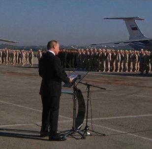 Путин прилетел в Сирию и приказал вывести войска