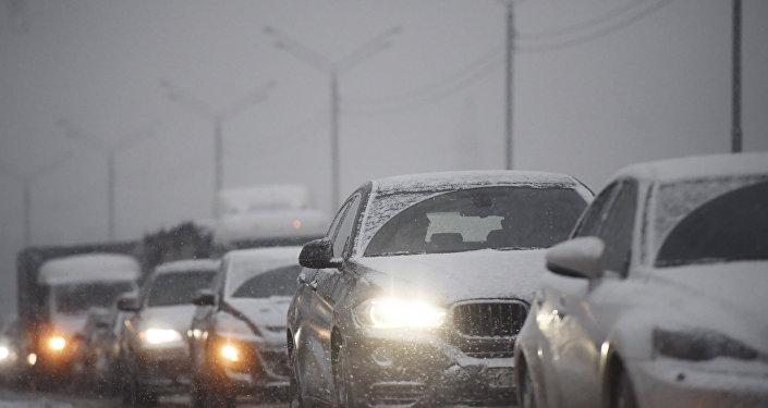 Sastrēgumi Maskavā