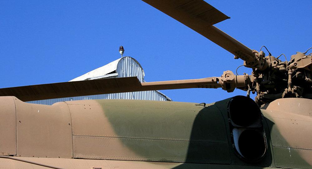 Лопасти вертолета, архивное фото