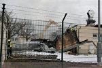 Взрыв на территории газового хаба в австрийском Баумгартене