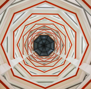 Снимок Geometric Concept фотографа Dmytro Levchuk, финалист конкурса Art of Building photography awards 2017
