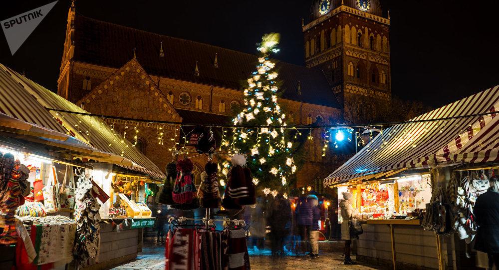 Россияне на Новый год выбирают Таллин, Ригу и Минск