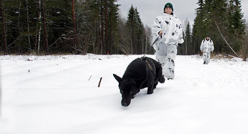 Pie Latvijas un Krievijas robežas. Foto no arhīva