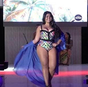 Bogotā notika skaistumkonkurss Pavedinošā Kolumbija 2017