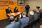 Брифинг посла РФ в Эстонии Александра Петрова в пресс-центре Sputnik Эстония