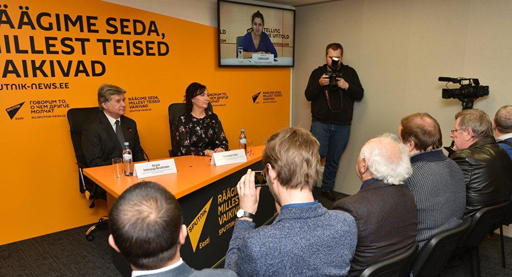 Брифинг посла РФ прошел в новом пресс-центре Sputnik Эстония