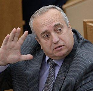 Krievijas Federācijas Padomes Aizsardzības un drošības komitejas priekšsēdētāja vietnieks Francis Klincevičs