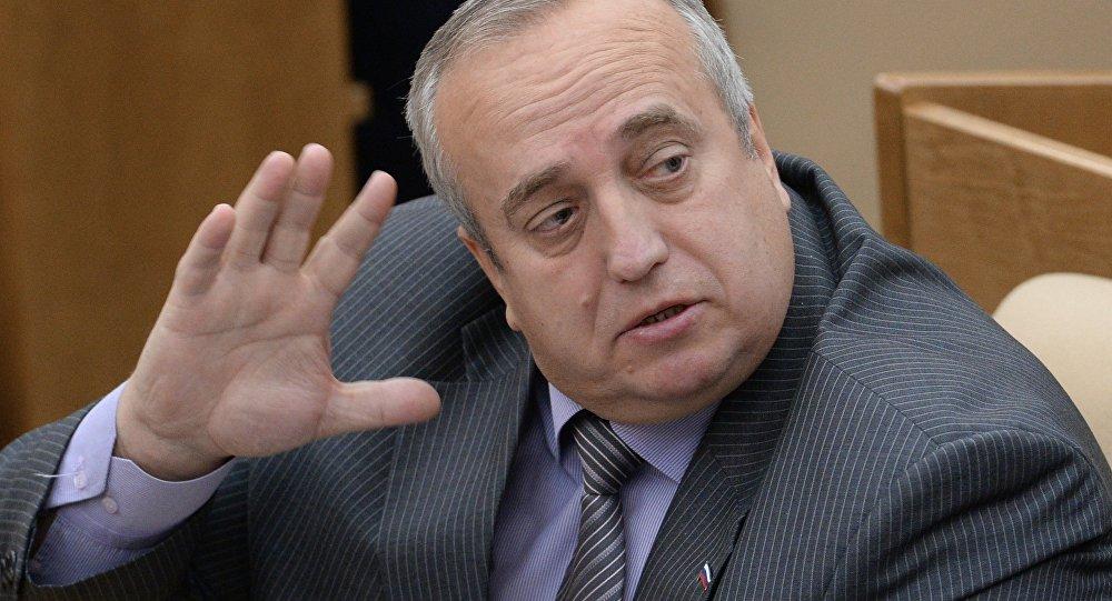 Krievijas senators pirmais Federācijas Aizsardzības un drošības padomes komitejas priekšsēdētāja vietnieks Francs Klincevičš.