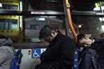 Автобус для перебравших на корпоративах японцев