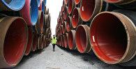 Cтроительство газопровода Северный поток