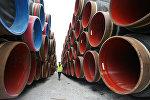 Строительство газопровода Северный поток, архивное фото