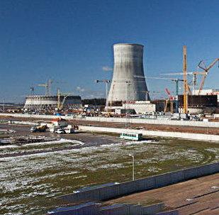 BelAES būvdarbi. Foto no arhīva