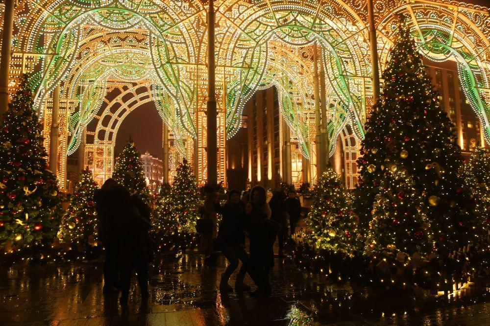 Svētku rotājums Maskavā