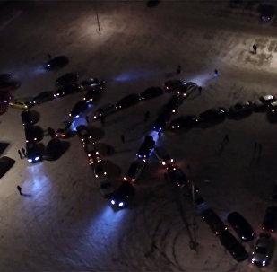 Auto cienītāju zibakcija Vladimirā