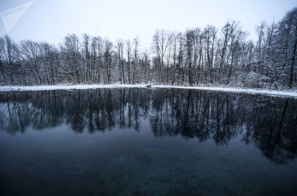 1994. gadā Krievija uzņēmās unikālās teritorijas aizsardzību – tika izveidots Valsts dabas rezervāts Zilie ezeri
