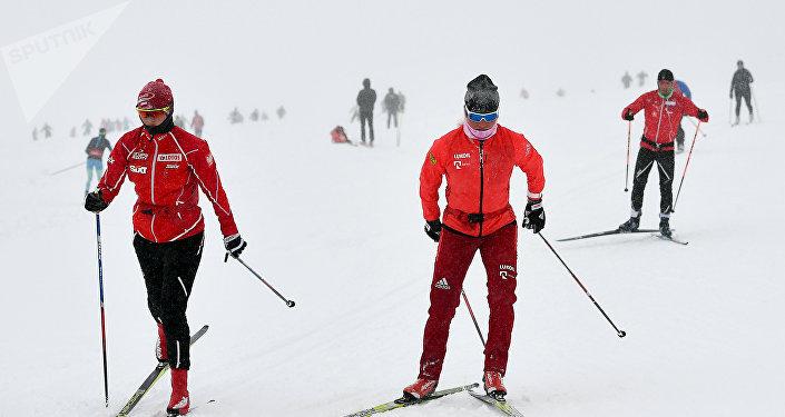 Тренировочный сбор сборной России по лыжным гонкам