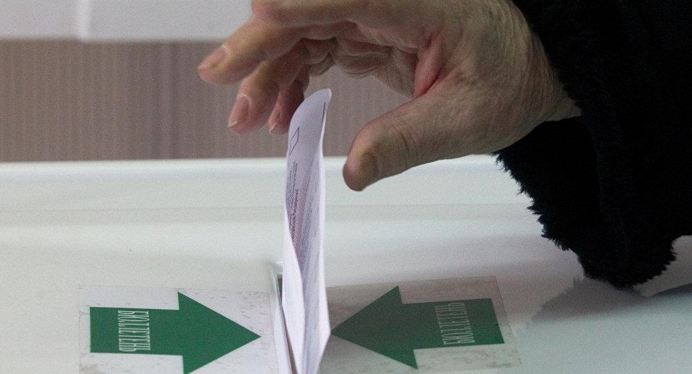 Выборы президента РФ. Архивное фото