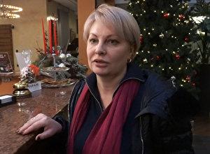 Корреспондент ВГТРК Ольга Курлаева