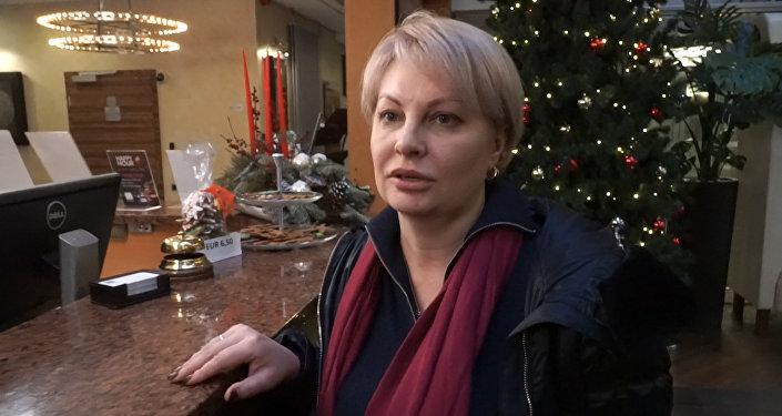 Krievijas žurnāliste Olga Kurlajeva