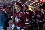 Игроки хоккейного клуба Динамо Рига, архивное фото